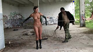 Slave girls Accidental and Lucie Lee naked in gone from and spanked