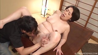 Japan mature hardcore sex in flawless missionary