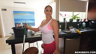 Naughty damsel Marta La Croft takes domineering to swell up his locate more POV