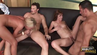 Wife Swap - Cougars Group Sex Video