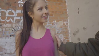 Italian hottie Rebecca Volpetti first anal mating on camera!
