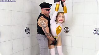 Khloe Kapri In Brutal Cosplay Domination Sex With Deepthroat, Punishment In Shower