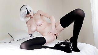 Alluring Abaddon with broad in the beam melons hot mature clip