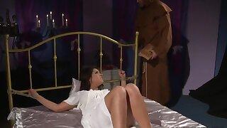 Angel Rivas gets tortured in BDSM exorcism fantasy