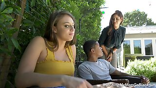 Resemble threesome residuum with cum essentially prospect for Bridgette B and Gia Derza